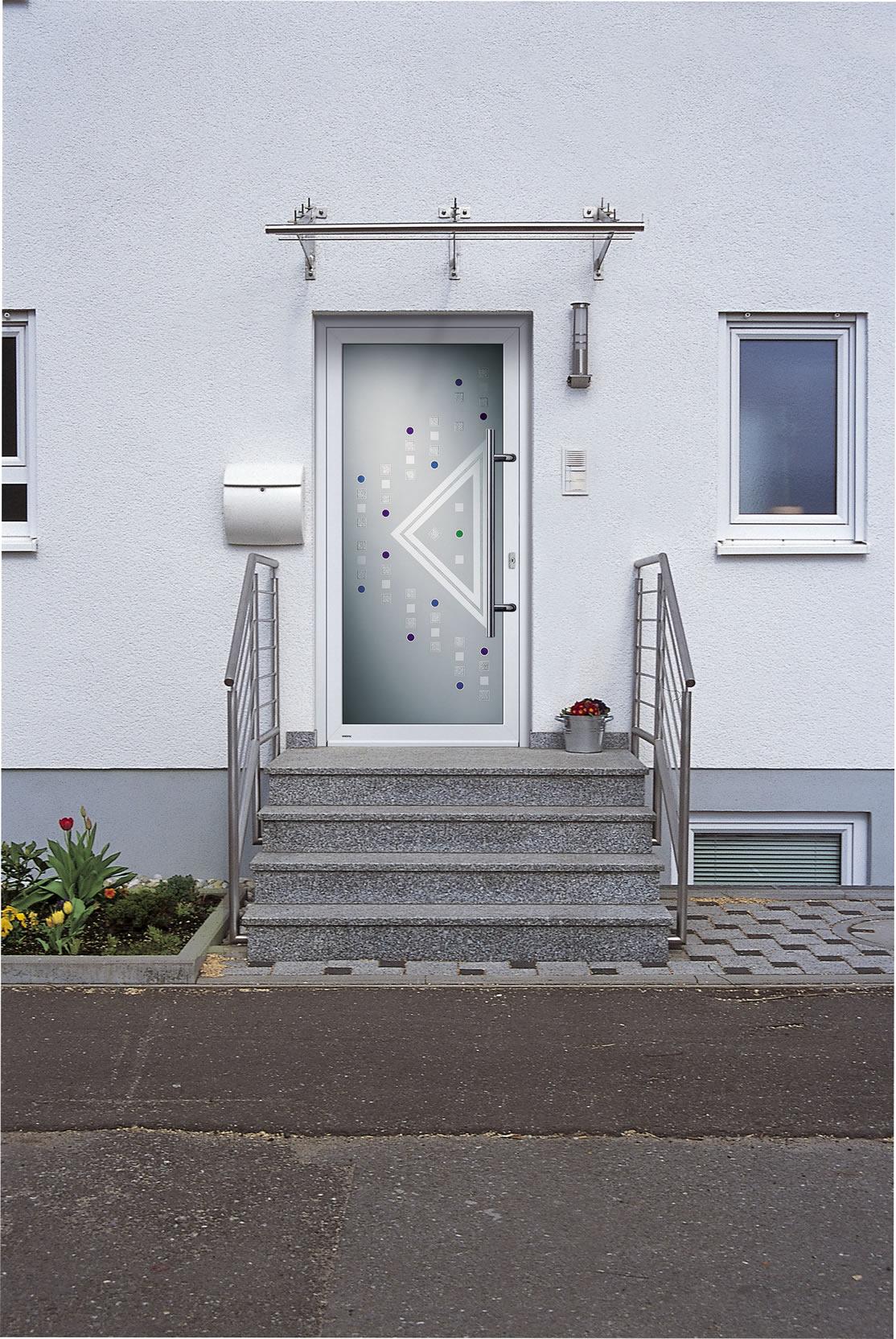 portes d entr e weru modernes en situation isoren saverne bas rhin 67. Black Bedroom Furniture Sets. Home Design Ideas